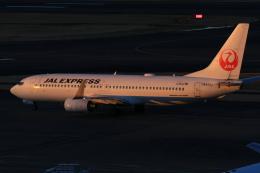 S.Hayashiさんが、羽田空港で撮影したJALエクスプレス 737-846の航空フォト(飛行機 写真・画像)