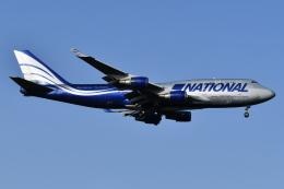 Deepさんが、成田国際空港で撮影したナショナル・エアラインズ 747-428(BCF)の航空フォト(飛行機 写真・画像)