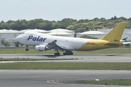 fukucyanさんが、成田国際空港で撮影したポーラーエアカーゴ 747-46NF/SCDの航空フォト(飛行機 写真・画像)
