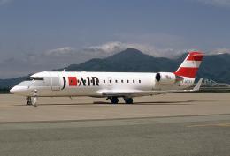 JAパイロットさんが、山形空港で撮影したジェイエア CL-600-2B19 Regional Jet CRJ-200ERの航空フォト(飛行機 写真・画像)