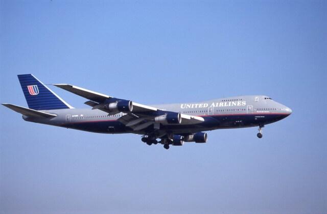 kumagorouさんが、成田国際空港で撮影したユナイテッド航空 747-122の航空フォト(飛行機 写真・画像)