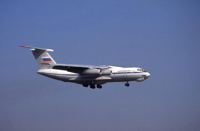 kumagorouさんが、成田国際空港で撮影したアエロフロート・ロシア航空 Il-76TDの航空フォト(飛行機 写真・画像)