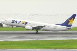 jun☆さんが、羽田空港で撮影したスカイマーク 737-8HXの航空フォト(飛行機 写真・画像)