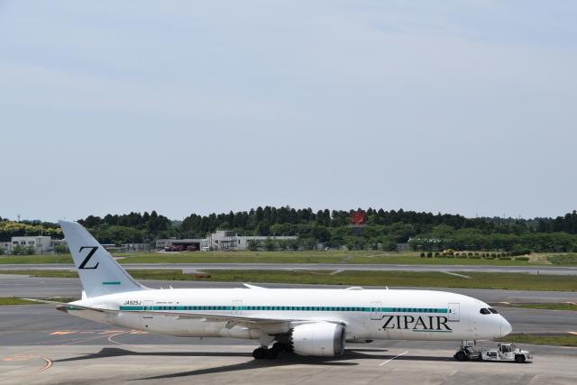 Anchorage2000さんが、成田国際空港で撮影したZIPAIR 787-8 Dreamlinerの航空フォト(飛行機 写真・画像)
