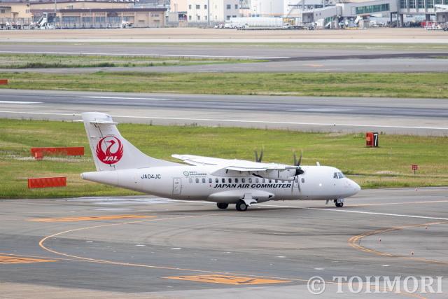 遠森一郎さんが、福岡空港で撮影した日本エアコミューター ATR-42-600の航空フォト(飛行機 写真・画像)