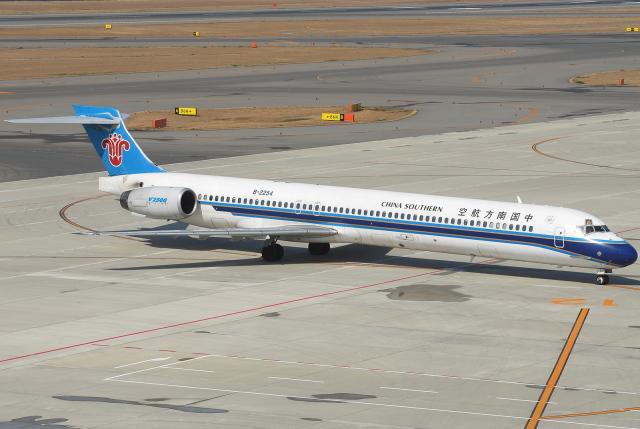 jun☆さんが、中部国際空港で撮影した中国南方航空 MD-90-30の航空フォト(飛行機 写真・画像)