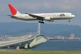 Deepさんが、関西国際空港で撮影した日本航空 767-346/ERの航空フォト(飛行機 写真・画像)