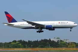 jun☆さんが、成田国際空港で撮影したデルタ航空 777-232/ERの航空フォト(飛行機 写真・画像)
