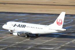 プルシアンブルーさんが、仙台空港で撮影したジェイエア ERJ-170-100 (ERJ-170STD)の航空フォト(飛行機 写真・画像)