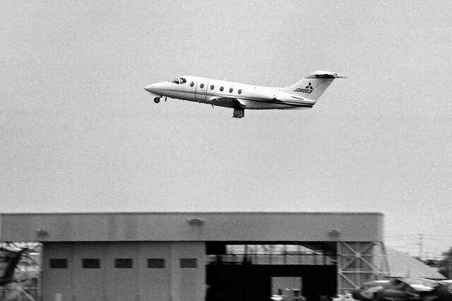ハミングバードさんが、名古屋飛行場で撮影した三菱重工業 MU-300の航空フォト(飛行機 写真・画像)