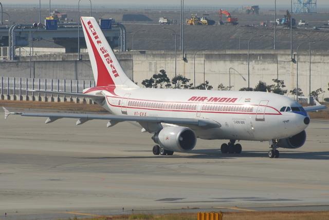 jun☆さんが、関西国際空港で撮影したエア・インディア A310-304の航空フォト(飛行機 写真・画像)