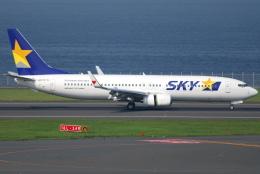 jun☆さんが、羽田空港で撮影したスカイマーク 737-86Nの航空フォト(飛行機 写真・画像)