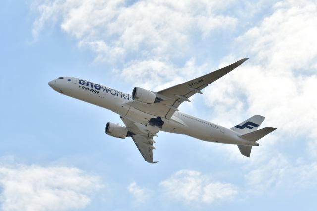 天心さんが、関西国際空港で撮影したフィンエアー A350-941の航空フォト(飛行機 写真・画像)