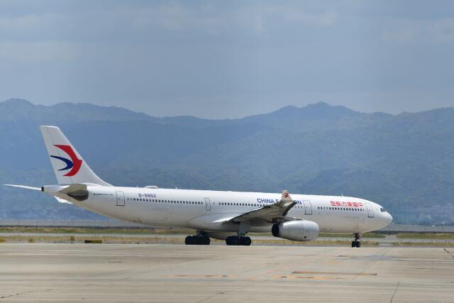 天心さんが、関西国際空港で撮影した中国東方航空 A330-343Xの航空フォト(飛行機 写真・画像)