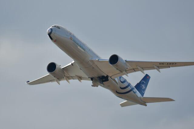 天心さんが、関西国際空港で撮影したベトナム航空 A350-941の航空フォト(飛行機 写真・画像)