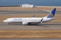 磐城さんが、中部国際空港で撮影したユナイテッド航空 737-824の航空フォト(飛行機 写真・画像)