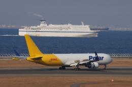 磐城さんが、中部国際空港で撮影したポーラーエアカーゴ 767-3JHF(ER)の航空フォト(飛行機 写真・画像)