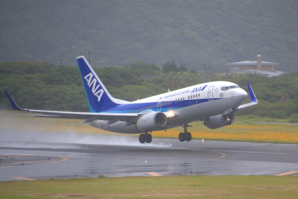 じーのさんさんの全日空 Boeing 737-700 (JA05AN) 航空フォト