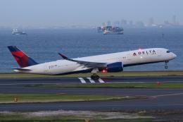 やつはしさんが、羽田空港で撮影したデルタ航空 A350-941の航空フォト(飛行機 写真・画像)
