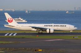 やつはしさんが、羽田空港で撮影した日本航空 777-246/ERの航空フォト(飛行機 写真・画像)