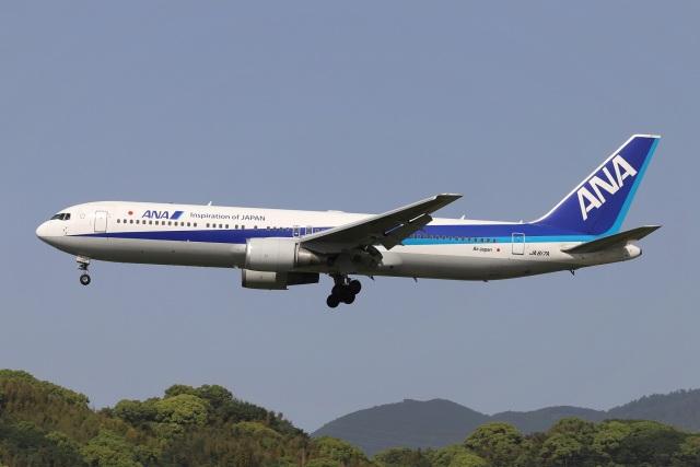 kan787allさんが、福岡空港で撮影したエアージャパン 767-381/ERの航空フォト(飛行機 写真・画像)