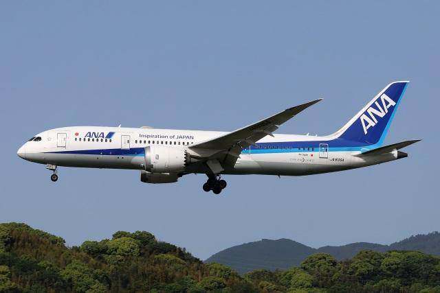 航空フォト:JA835A 全日空 787-8 Dreamliner