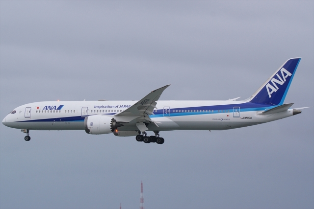 HEATHROWさんが、那覇空港で撮影した全日空 787-9の航空フォト(飛行機 写真・画像)
