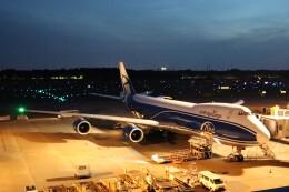 不揃いさんが、成田国際空港で撮影したエアブリッジ・カーゴ・エアラインズ 747-8HVFの航空フォト(飛行機 写真・画像)