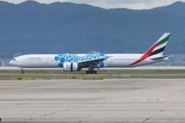青春の1ページさんが、関西国際空港で撮影したエミレーツ航空 777-36N/ERの航空フォト(飛行機 写真・画像)