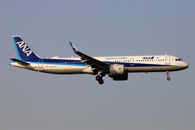 kan787allさんが、福岡空港で撮影した全日空 A321-272Nの航空フォト(飛行機 写真・画像)