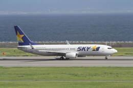 プルシアンブルーさんが、神戸空港で撮影したスカイマーク 737-82Yの航空フォト(飛行機 写真・画像)