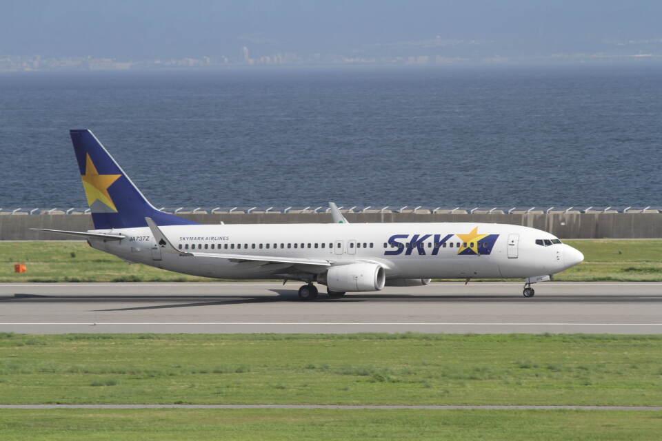 プルシアンブルーさんのスカイマーク Boeing 737-800 (JA737Z) 航空フォト