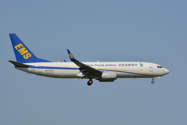 アルビレオさんが、成田国際空港で撮影した中国郵政航空 737-81Q(BCF)の航空フォト(飛行機 写真・画像)