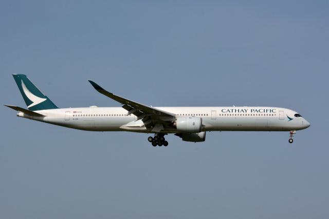 アルビレオさんが、成田国際空港で撮影したキャセイパシフィック航空 A350-1041の航空フォト(飛行機 写真・画像)