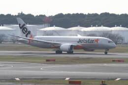 プルシアンブルーさんが、成田国際空港で撮影したジェットスター 787-8 Dreamlinerの航空フォト(飛行機 写真・画像)