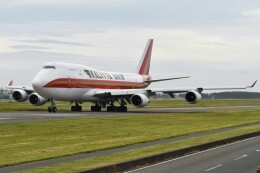 デルタおA330さんが、横田基地で撮影したカリッタ エア 747-4H6(BCF)の航空フォト(飛行機 写真・画像)