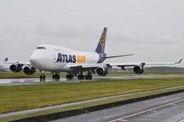 デルタおA330さんが、横田基地で撮影したアトラス航空 747-45E(BDSF)の航空フォト(飛行機 写真・画像)