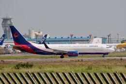 やまモンさんが、成田国際空港で撮影した広東龍浩航空 737-8AS(BCF)の航空フォト(飛行機 写真・画像)