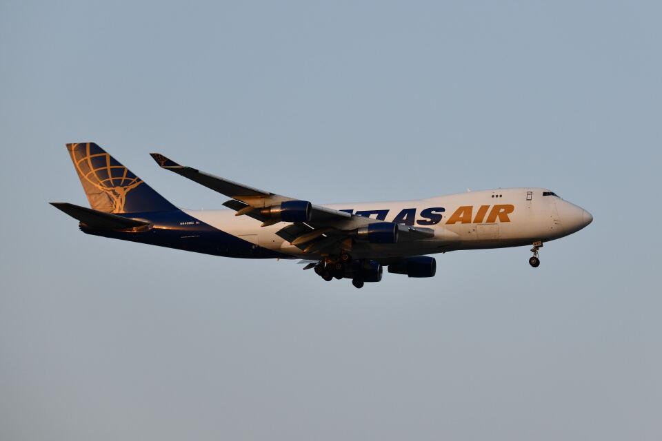 ポン太さんのアトラス航空 Boeing 747-400 (N446MC) 航空フォト