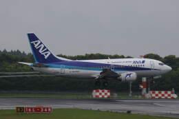 プルシアンブルーさんが、成田国際空港で撮影したANAウイングス 737-5L9の航空フォト(飛行機 写真・画像)