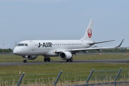 しめぎさんが、仙台空港で撮影したジェイエア ERJ-190-100(ERJ-190STD)の航空フォト(飛行機 写真・画像)