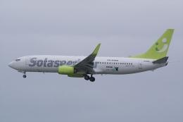 HEATHROWさんが、那覇空港で撮影したソラシド エア 737-81Dの航空フォト(飛行機 写真・画像)