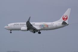 HEATHROWさんが、那覇空港で撮影した日本トランスオーシャン航空 737-8Q3の航空フォト(飛行機 写真・画像)