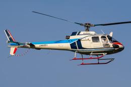 さんごーさんが、東京ヘリポートで撮影した中日本航空 AS350B Ecureuilの航空フォト(飛行機 写真・画像)