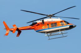 さんごーさんが、東京ヘリポートで撮影した新日本ヘリコプター 427の航空フォト(飛行機 写真・画像)