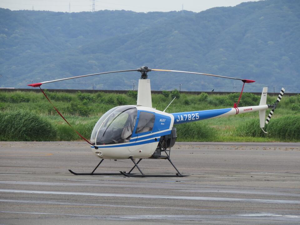 F.YUKIHIDEさんの日本法人所有 Robinson R22 (JA7825) 航空フォト