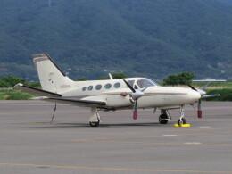 F.YUKIHIDEさんが、岡南飛行場で撮影した日本法人所有 425 Conquest Iの航空フォト(飛行機 写真・画像)