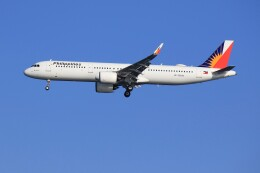 メンチカツさんが、羽田空港で撮影したフィリピン航空 A321-271Nの航空フォト(飛行機 写真・画像)