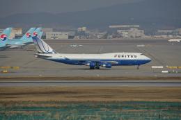 tsubameさんが、仁川国際空港で撮影したユナイテッド航空 747-422の航空フォト(飛行機 写真・画像)