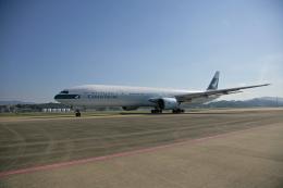 tsubameさんが、福岡空港で撮影したキャセイパシフィック航空 777-367の航空フォト(飛行機 写真・画像)